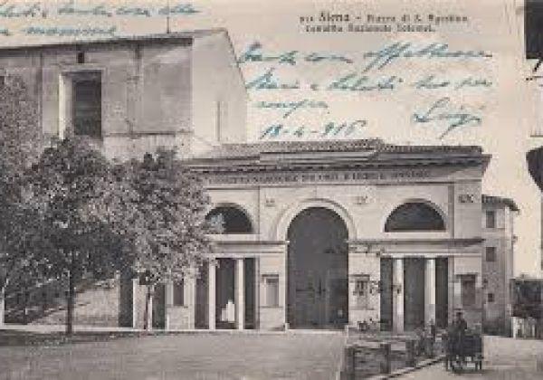 """Le origini del nome """"Tartuca"""" e la Chiesa di Sant'Agostino"""