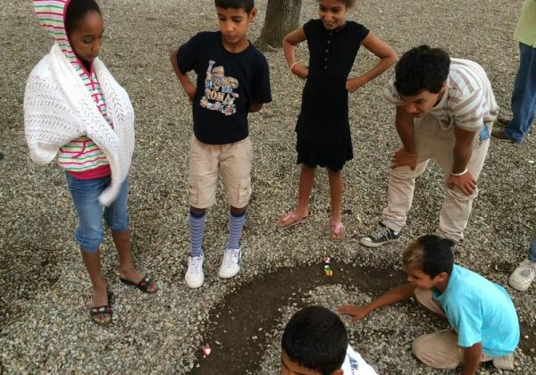 I piccoli bambini dell Saharawi