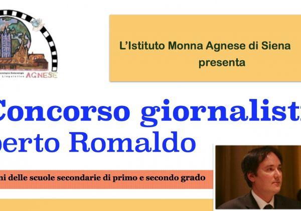 Sesto Concorso Giornalistico 'Roberto Romaldo'