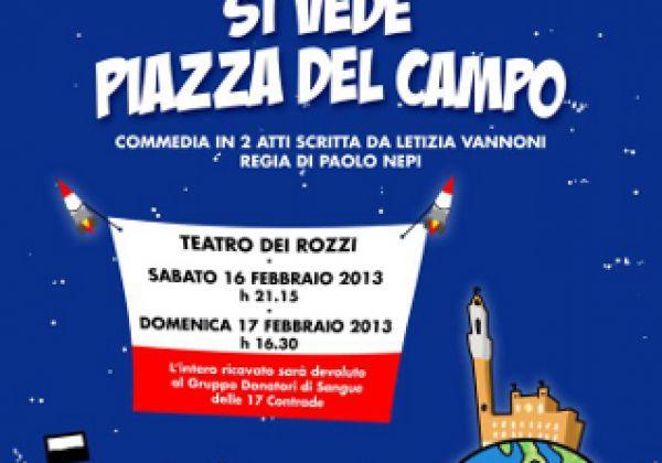 Dalla luna si vede Piazza del Campo
