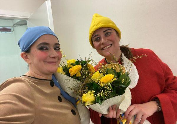 Betta e Silvia alla Commedia delle Donne