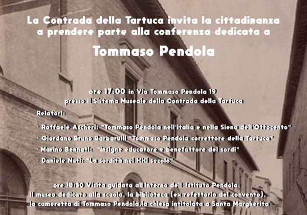 Conferenza su Tommaso Pendola