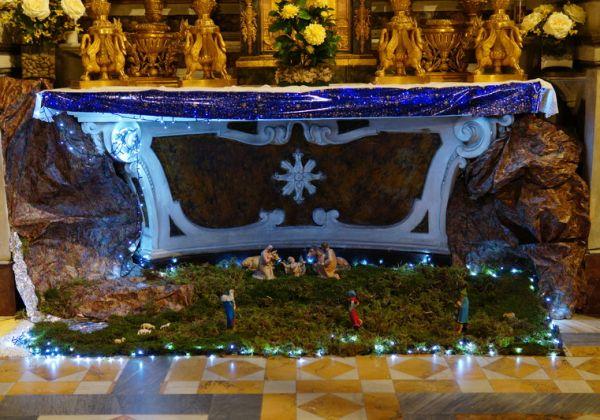 Allestito il Presepio nell'Oratorio